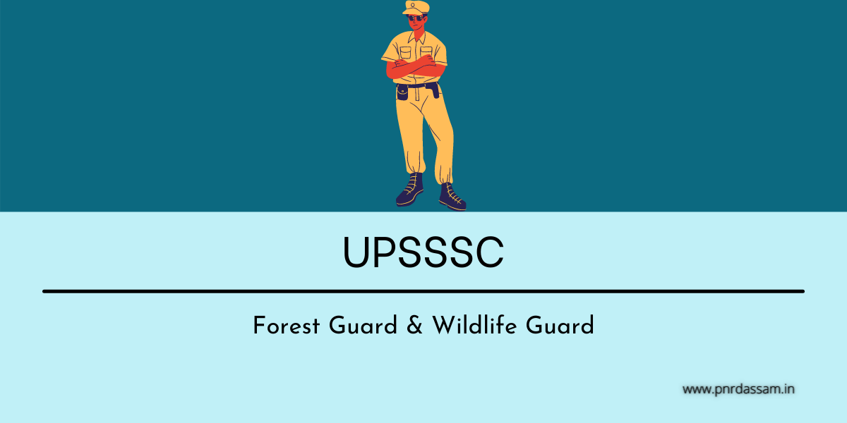 up forest guard admit card